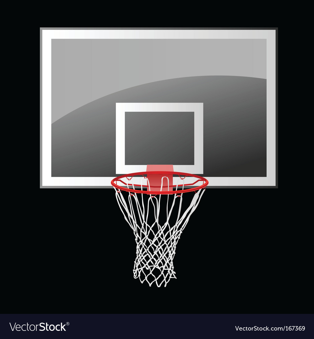 Basketball backboard vector | Price: 1 Credit (USD $1)