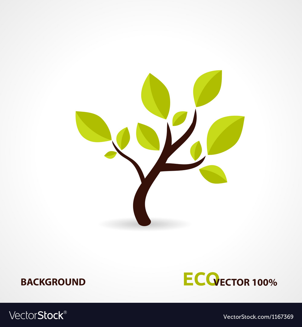 Eco tech design vector | Price: 1 Credit (USD $1)