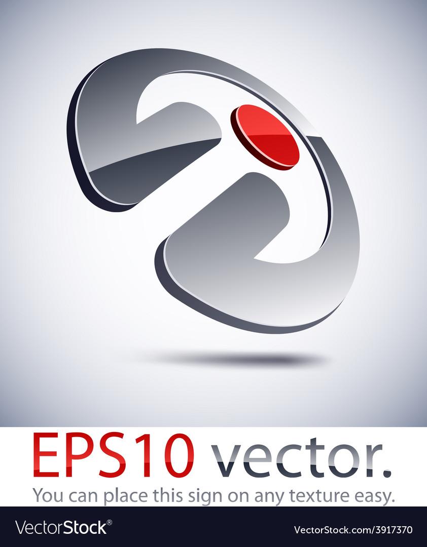 3d modern penetration logo icon vector   Price: 1 Credit (USD $1)