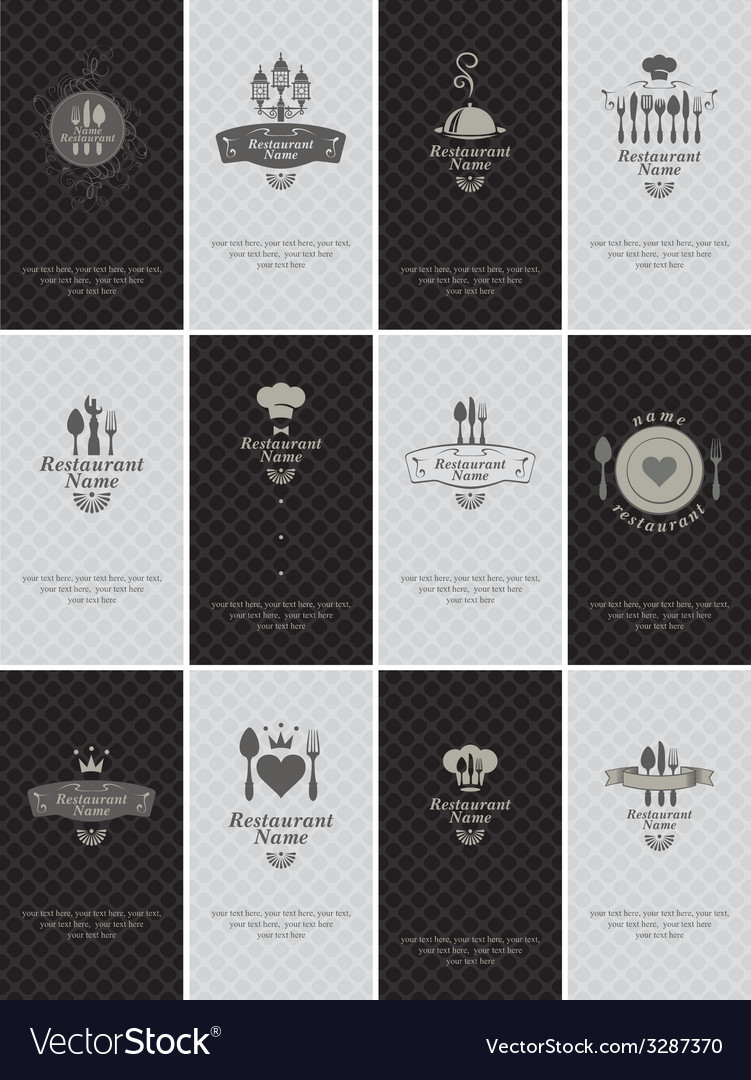 Business card food vector | Price: 1 Credit (USD $1)