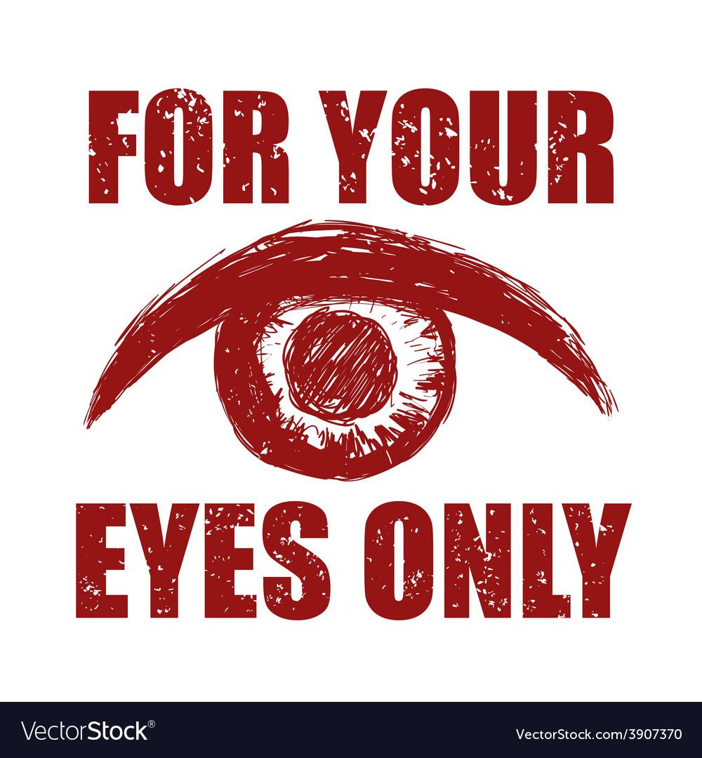 Eye icon vector | Price: 1 Credit (USD $1)