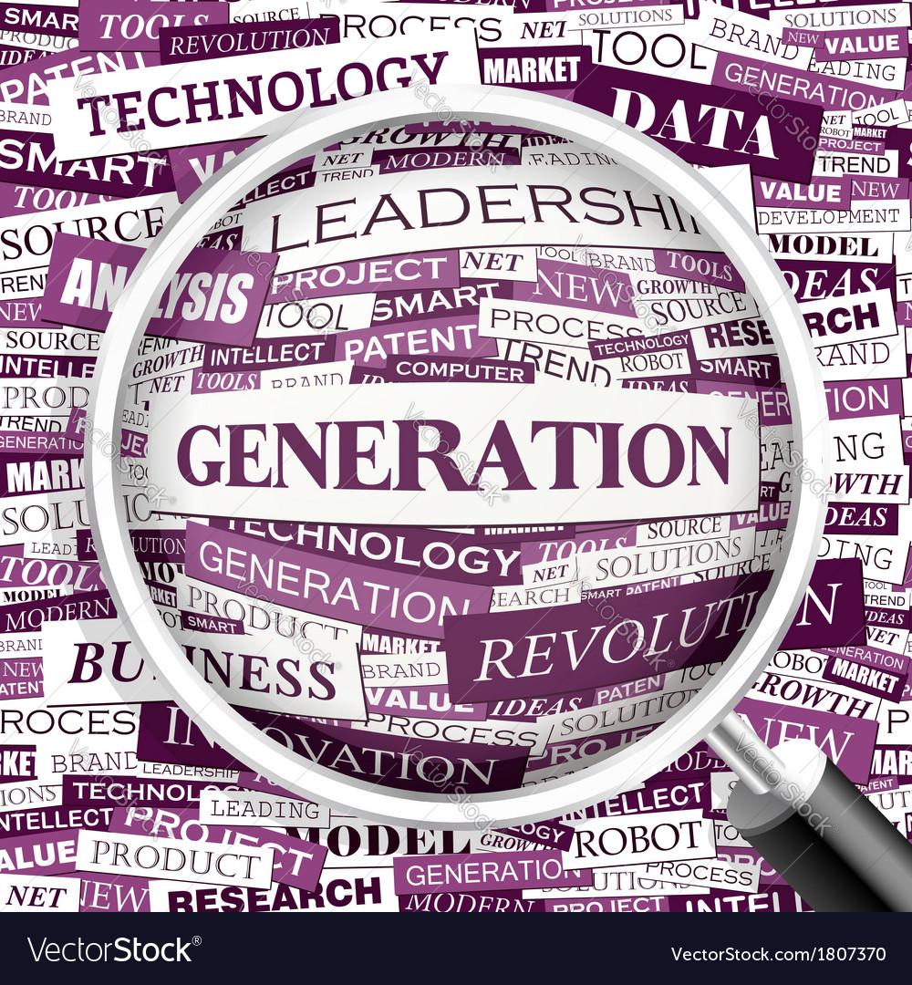 Generation vector   Price: 1 Credit (USD $1)