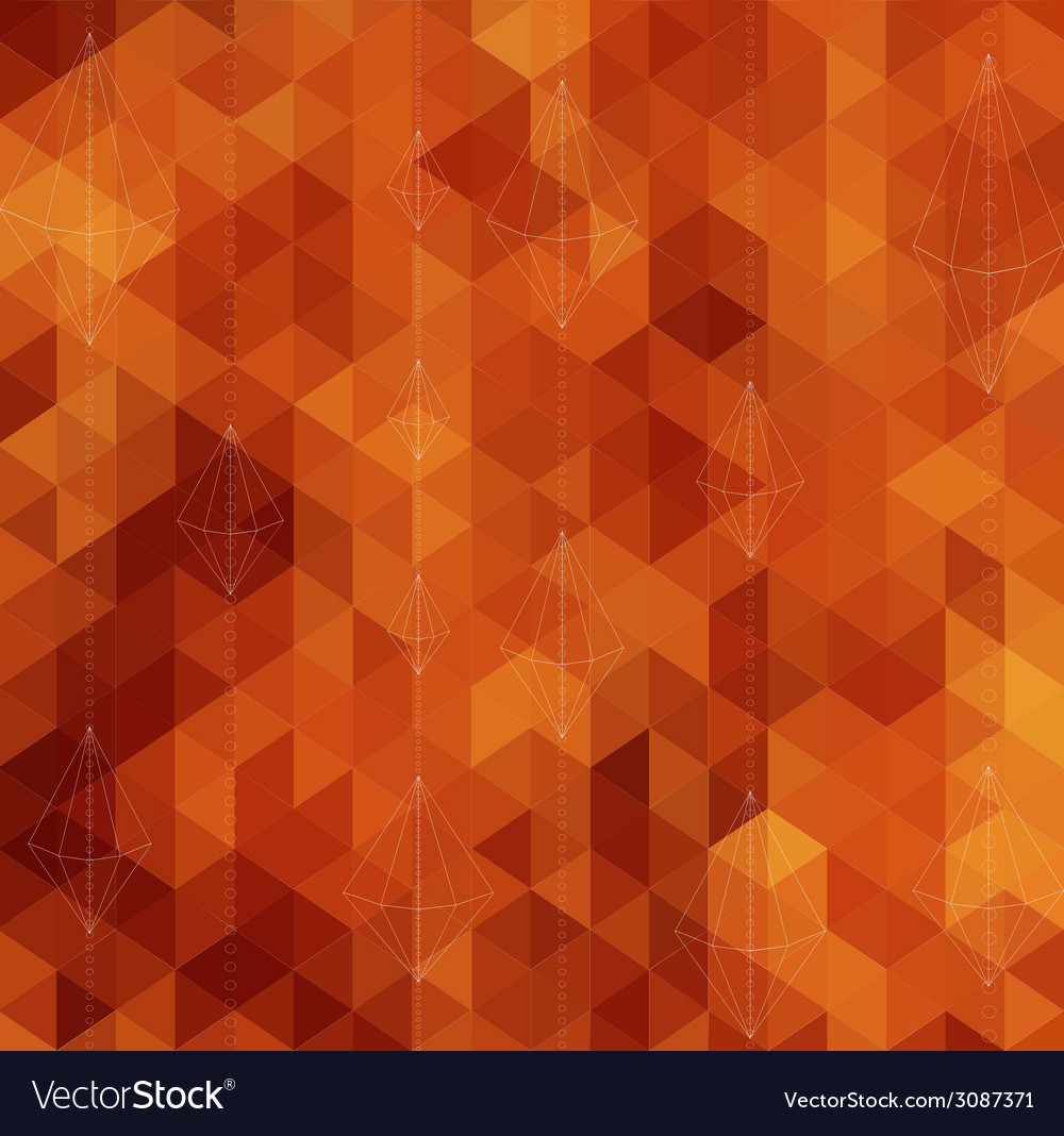Abstract triangle geometrical multicolored vector   Price: 1 Credit (USD $1)