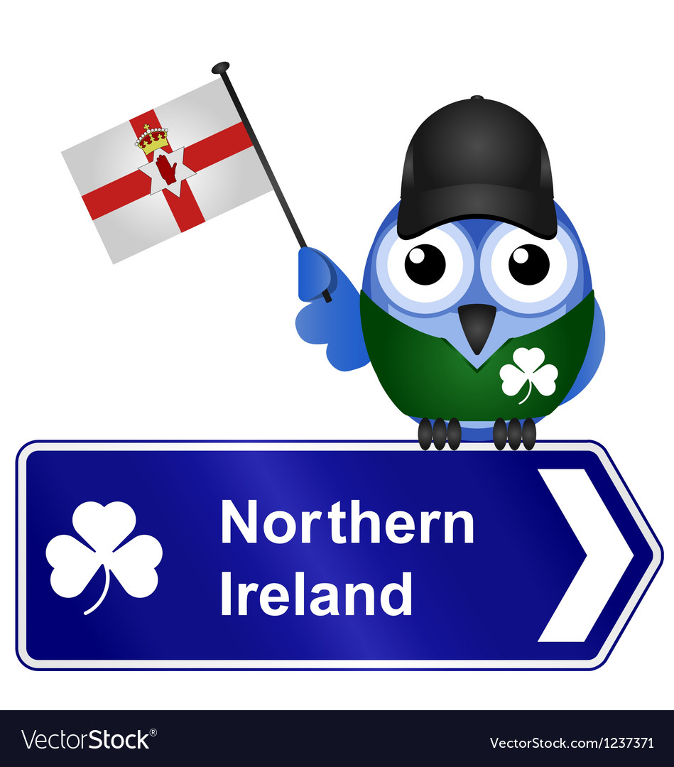 Country sign northern ireland vector | Price: 1 Credit (USD $1)