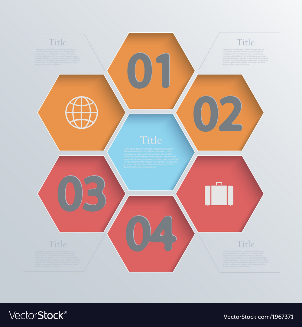 Modern infographic element design eps 10 vector | Price: 1 Credit (USD $1)