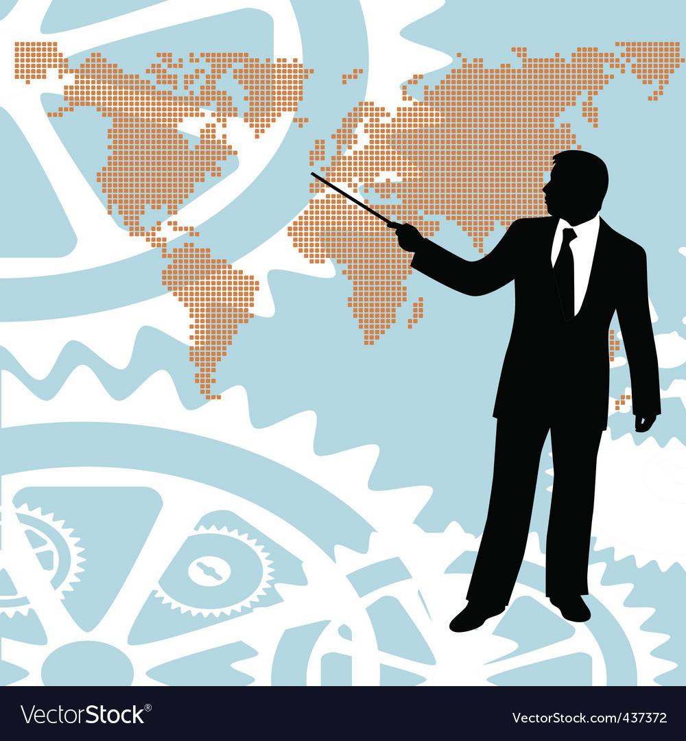 Businessman vector | Price: 1 Credit (USD $1)