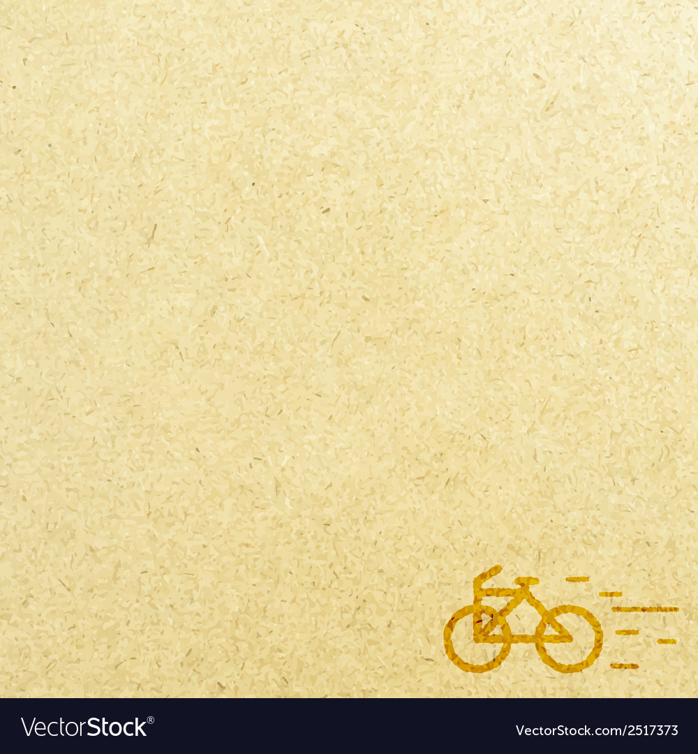 Bicycle and paper vector | Price: 1 Credit (USD $1)