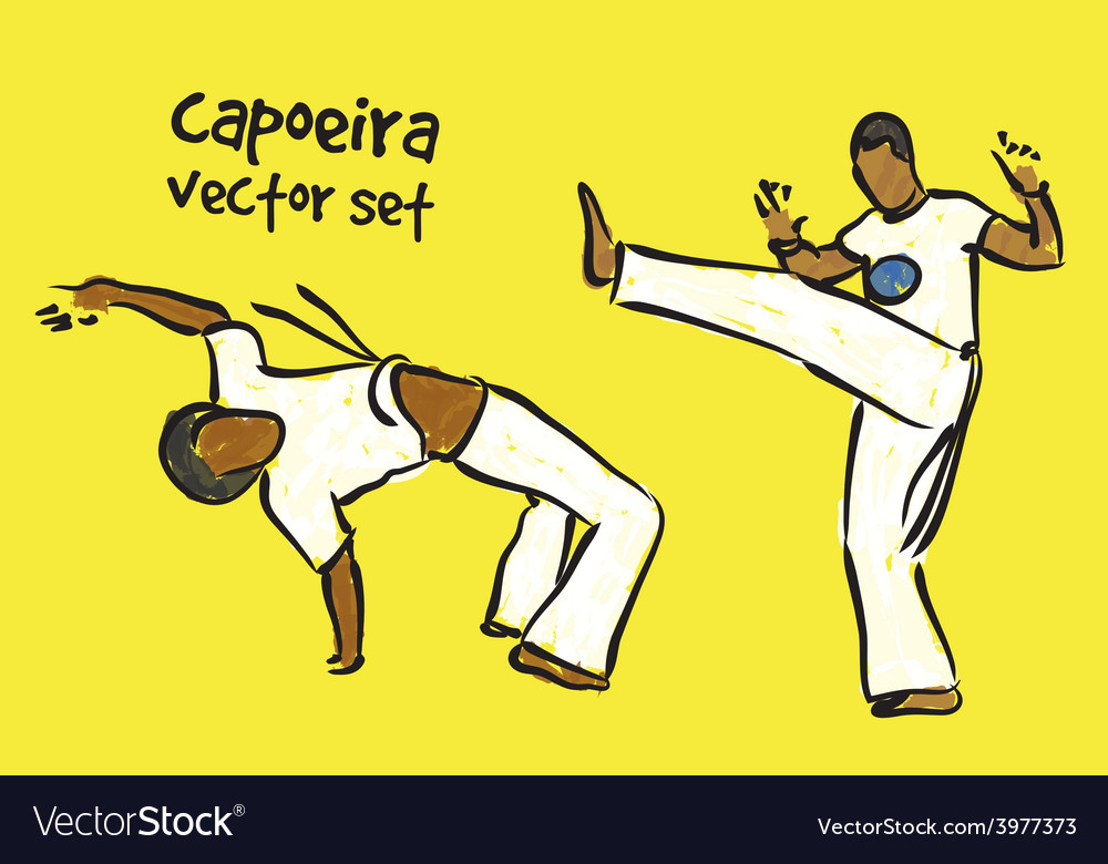 Capoeira set vector | Price: 1 Credit (USD $1)