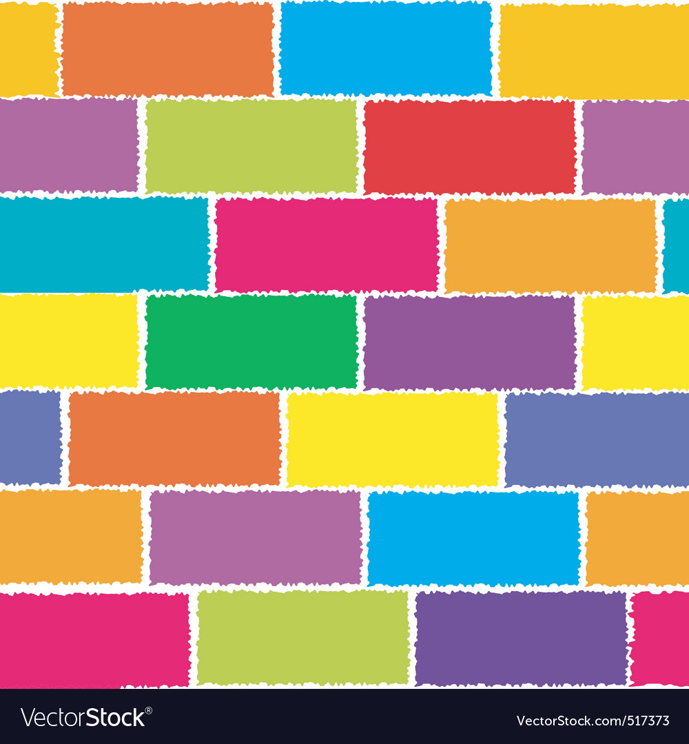 Colored wall vector | Price: 1 Credit (USD $1)