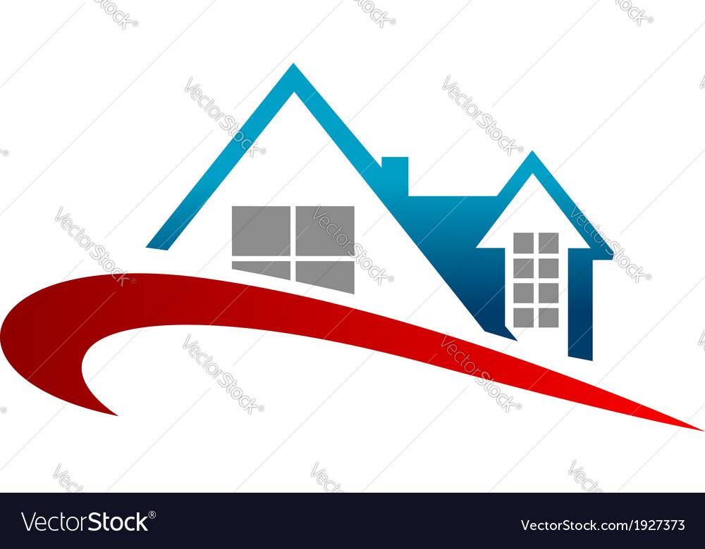 Real estate symbol vector | Price: 1 Credit (USD $1)