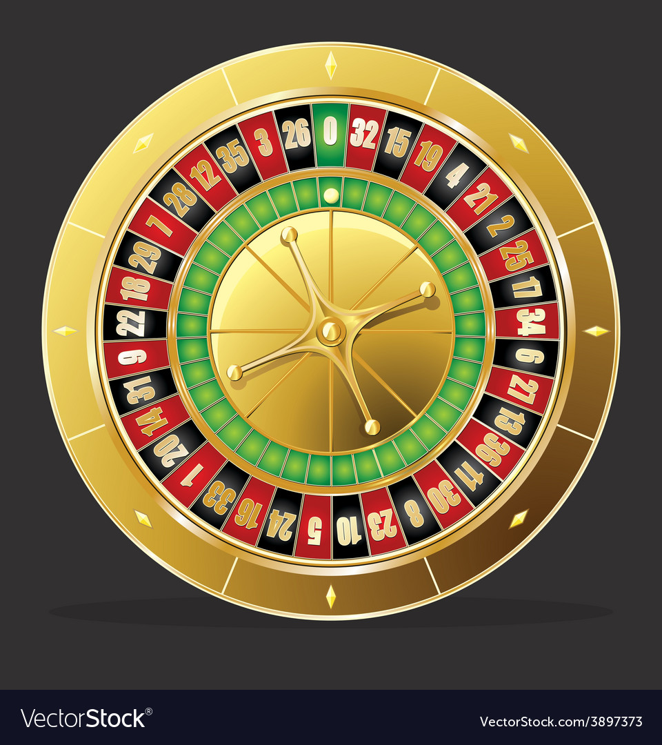Roulette wheel vector | Price: 1 Credit (USD $1)