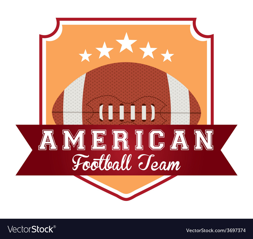 American football vector   Price: 1 Credit (USD $1)