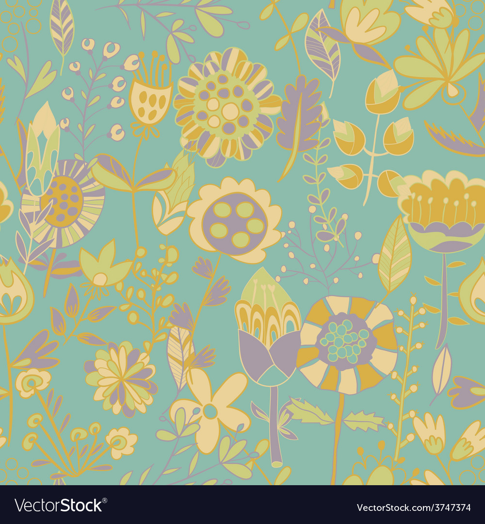 Flower pattern seamless texture vector   Price: 1 Credit (USD $1)