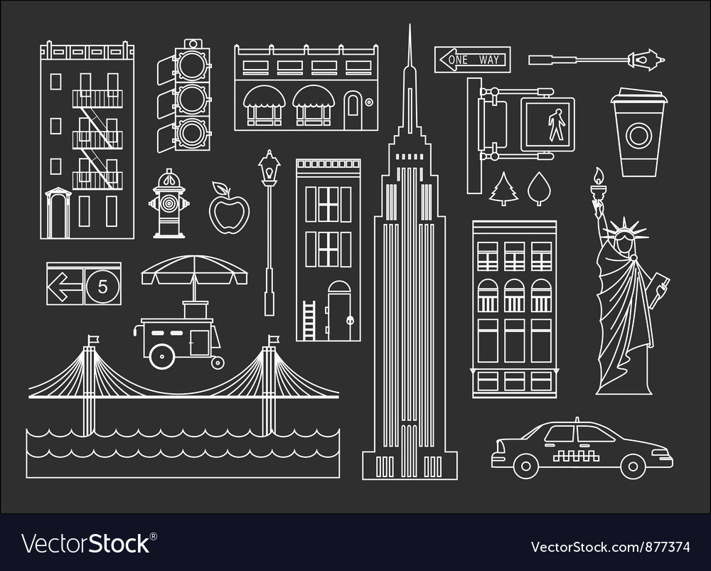 New york vector | Price: 1 Credit (USD $1)