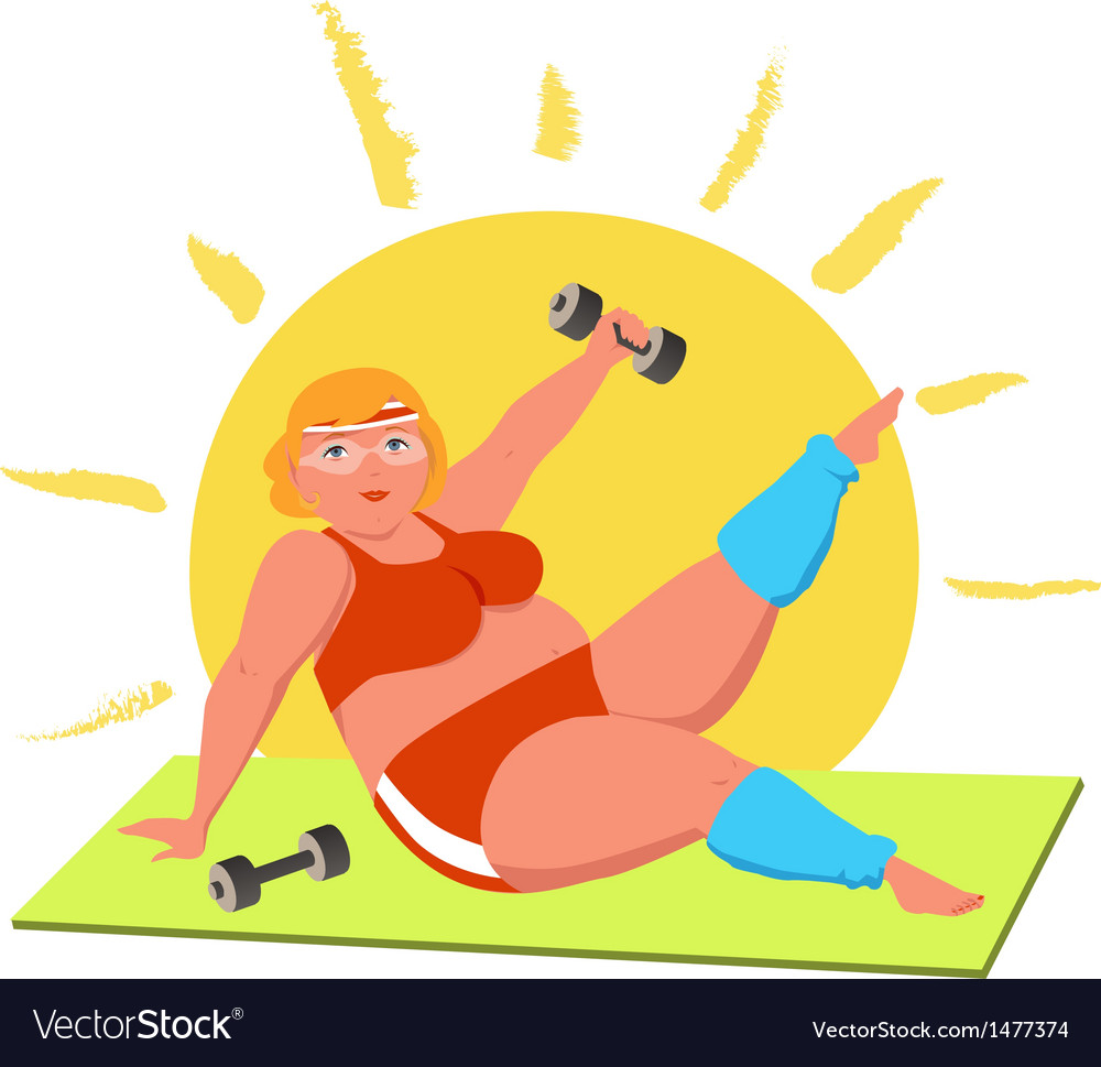Working out vector | Price: 1 Credit (USD $1)