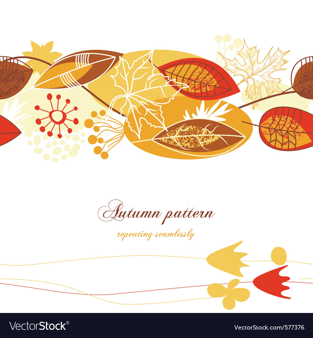 Fall leaves vector