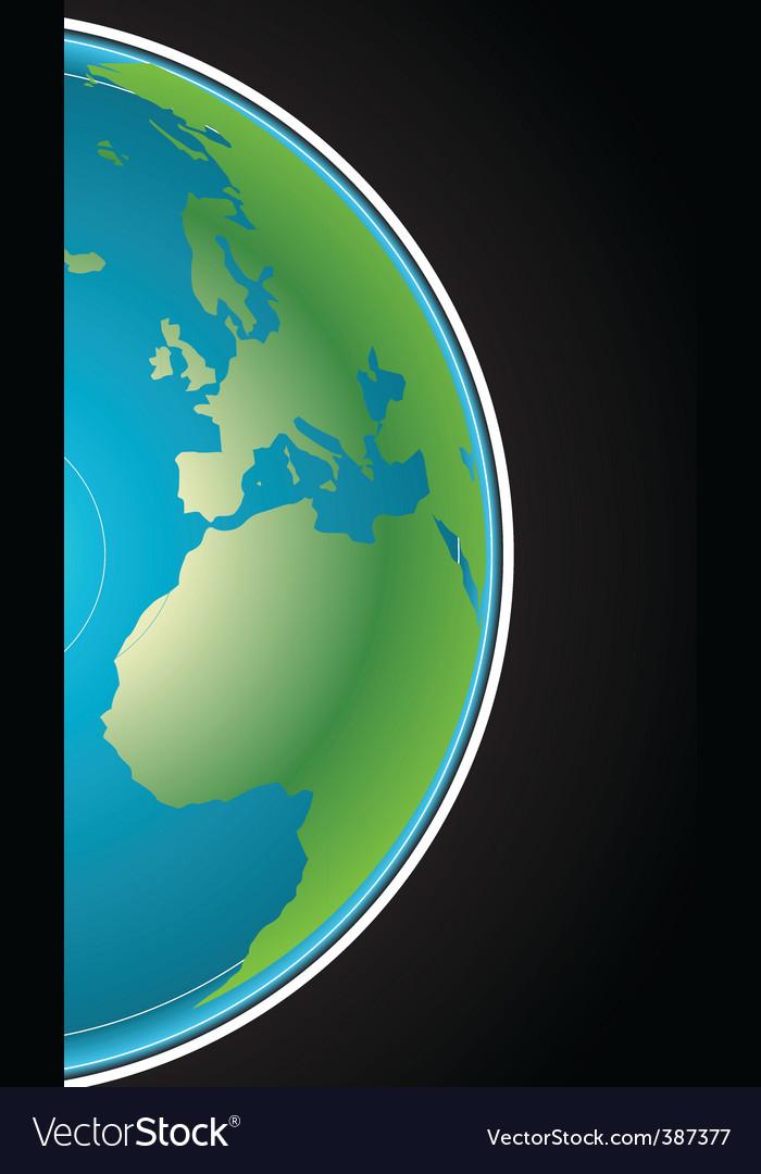 Globe background vector | Price: 1 Credit (USD $1)
