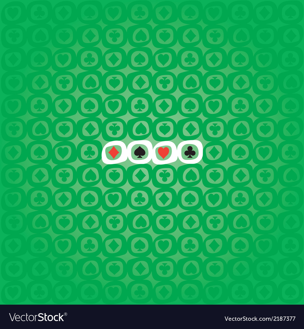 Poker pattern vector | Price: 1 Credit (USD $1)