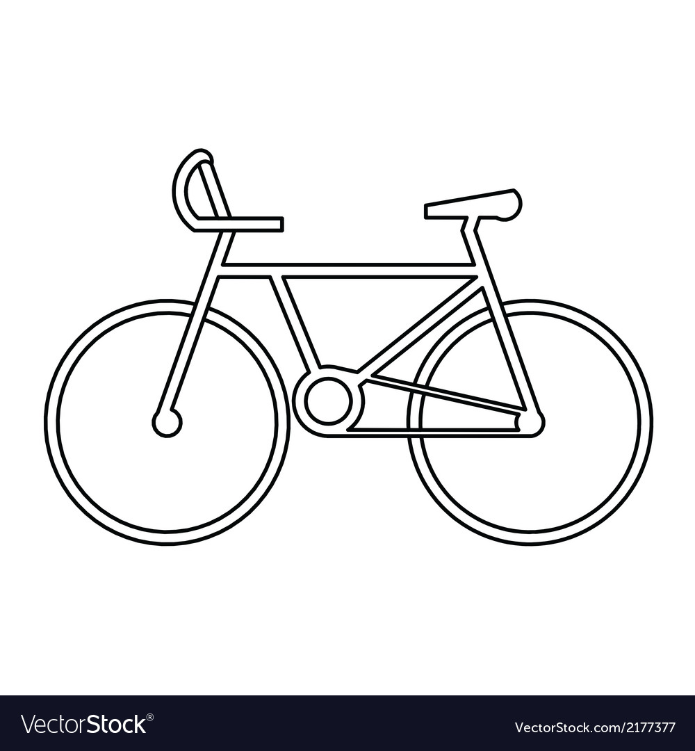 Sport bicycle symbol vector | Price: 1 Credit (USD $1)