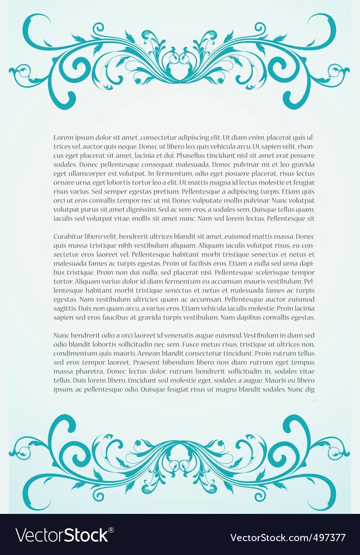 Text document vector | Price: 1 Credit (USD $1)