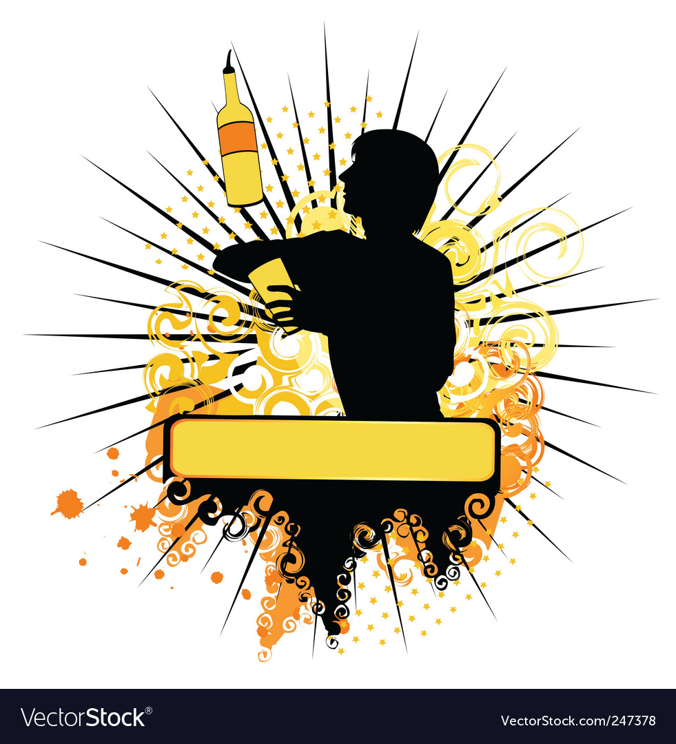 Barman vector | Price: 1 Credit (USD $1)