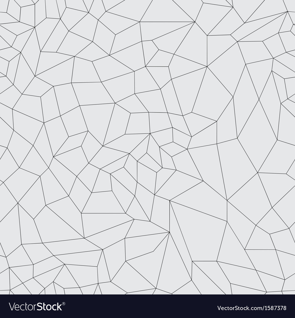 Mosaic black grid on a gray background vector | Price: 1 Credit (USD $1)