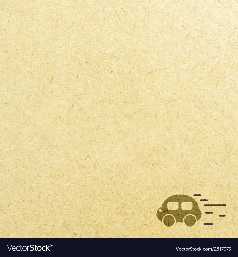 Car road and paper vector | Price: 1 Credit (USD $1)