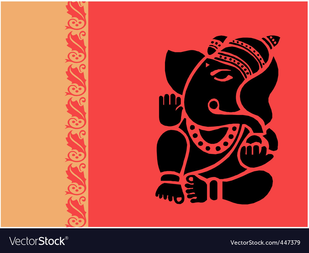 Lord ganesh vector | Price: 1 Credit (USD $1)