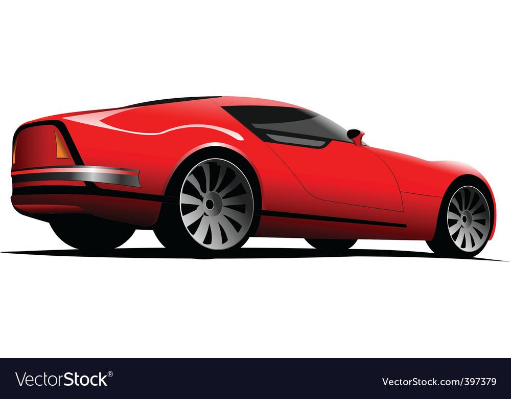 Sports car vector   Price: 1 Credit (USD $1)
