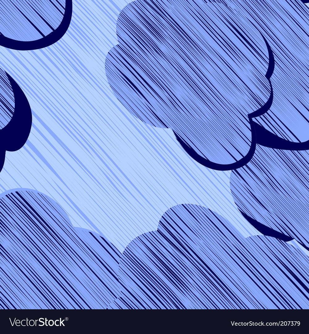 Storm clouds vector | Price: 1 Credit (USD $1)