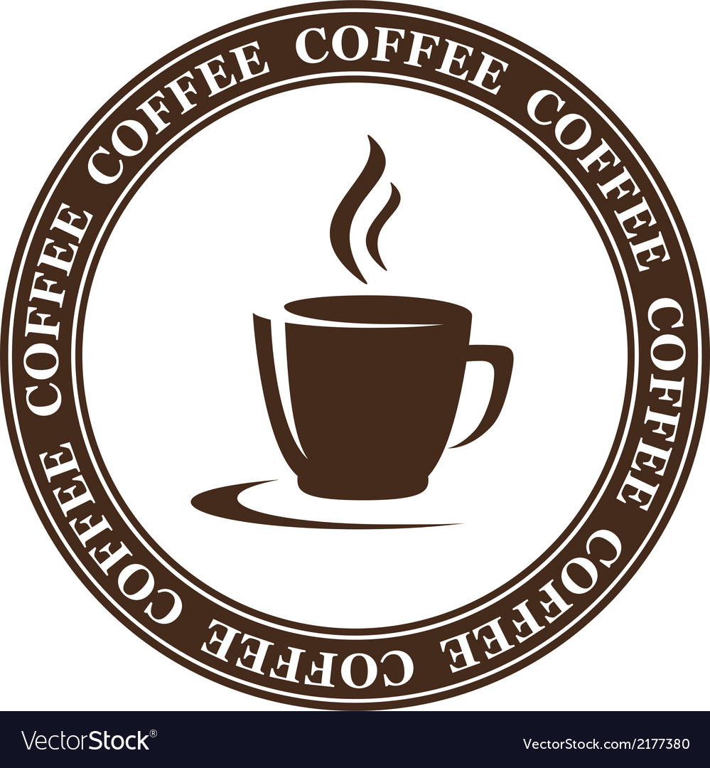 Abstract coffee cup vector | Price: 1 Credit (USD $1)