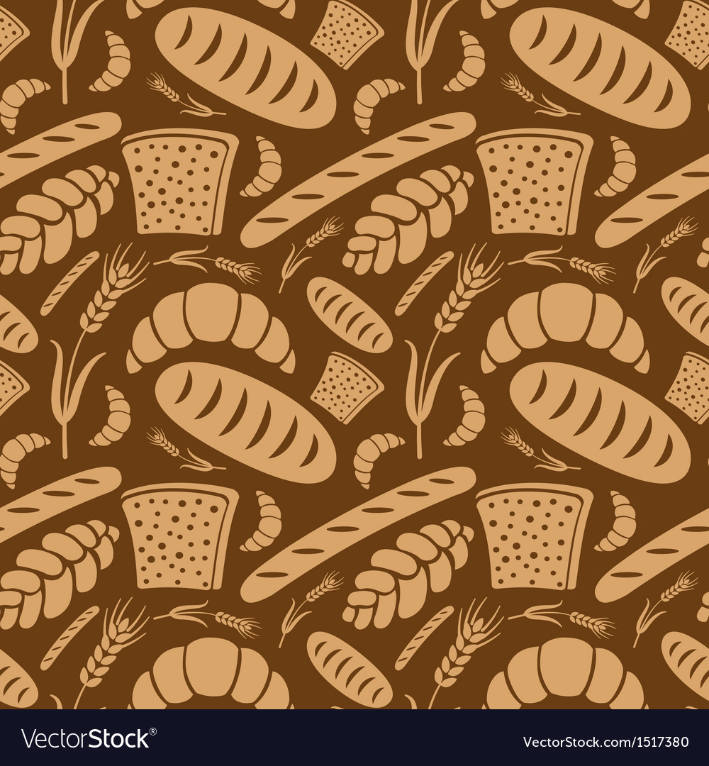 Bread pattern2 vector | Price: 1 Credit (USD $1)