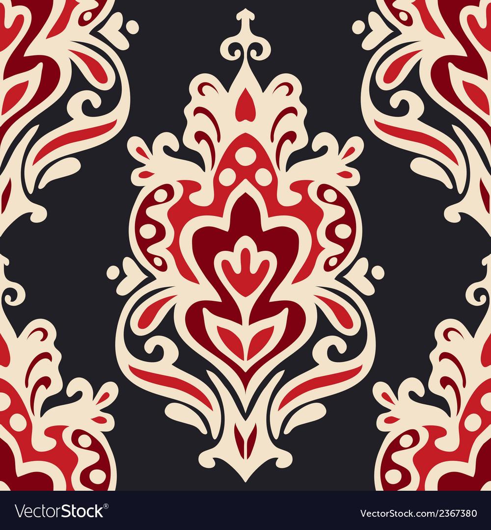 Luxury damask seamles vector | Price: 1 Credit (USD $1)
