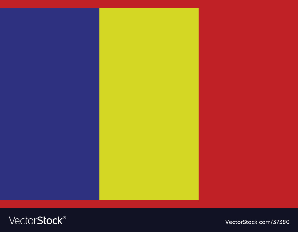 Principality of andorra flag vector | Price: 1 Credit (USD $1)