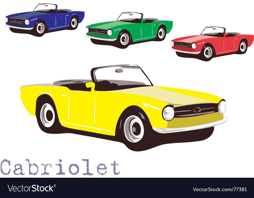 Cabriolet vector | Price: 1 Credit (USD $1)