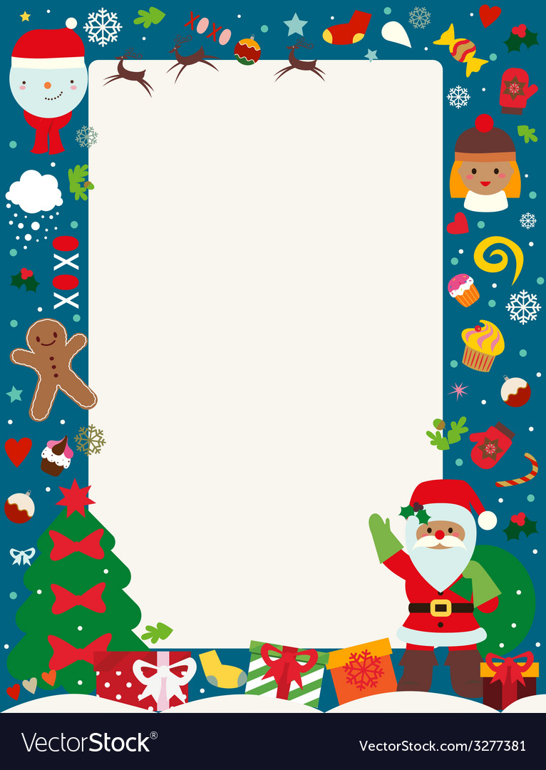 Christmas holiday poster vector | Price: 1 Credit (USD $1)