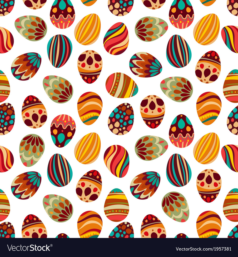 Easter egg pattern vector | Price: 1 Credit (USD $1)