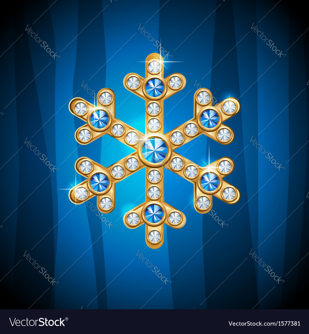 Jewel snow vector | Price: 1 Credit (USD $1)
