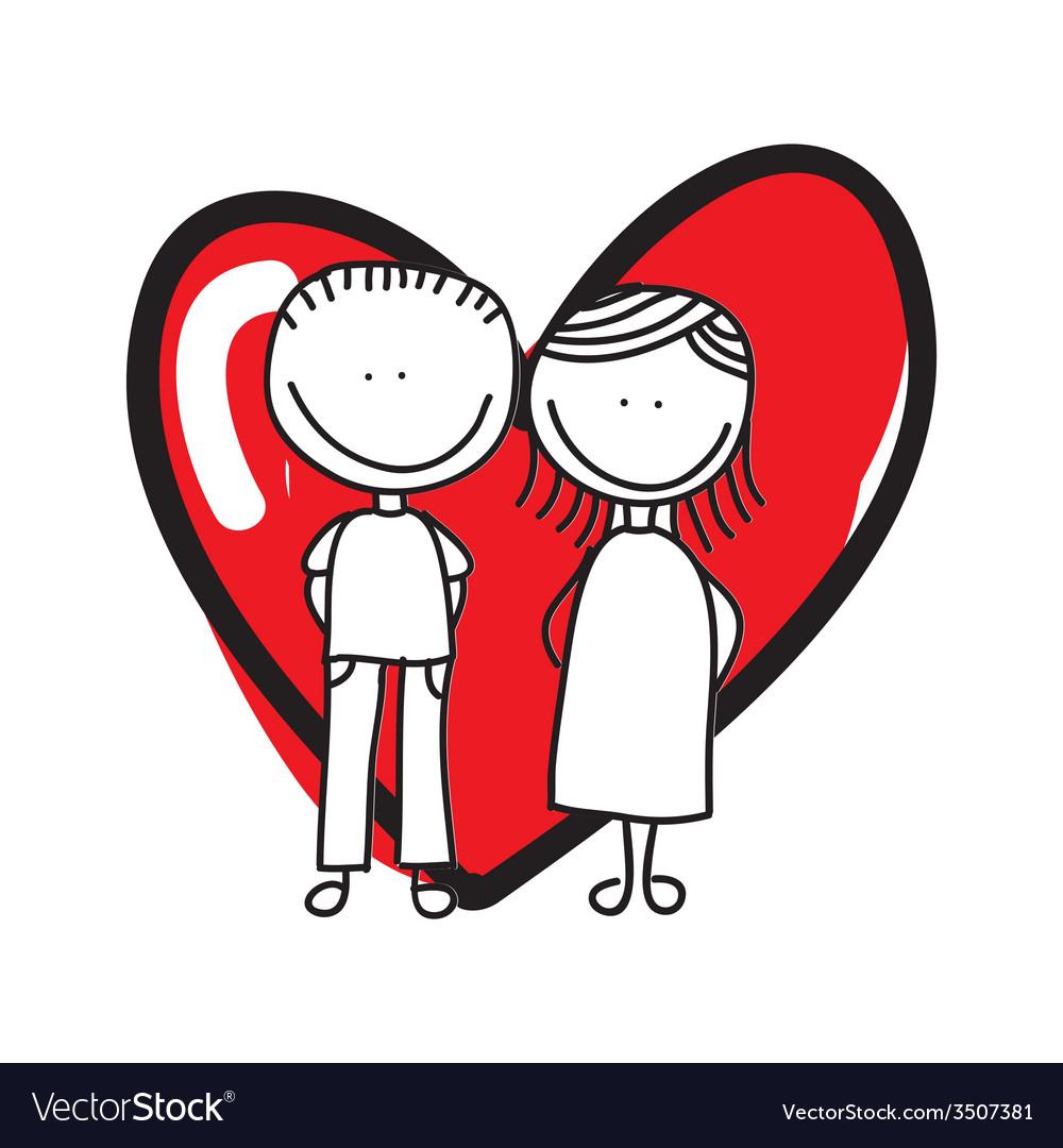 Love card design vector | Price: 1 Credit (USD $1)