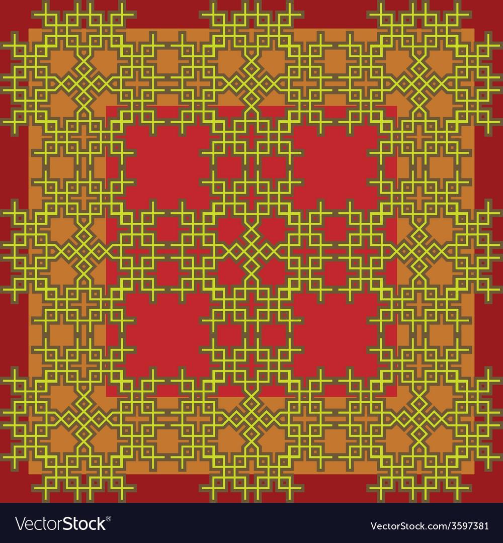 Seamless celtic frame vector | Price: 1 Credit (USD $1)