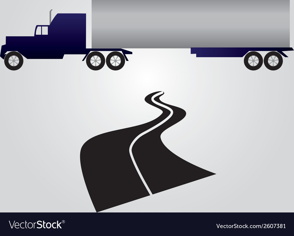 Truck and cargo eps10 vector | Price: 1 Credit (USD $1)