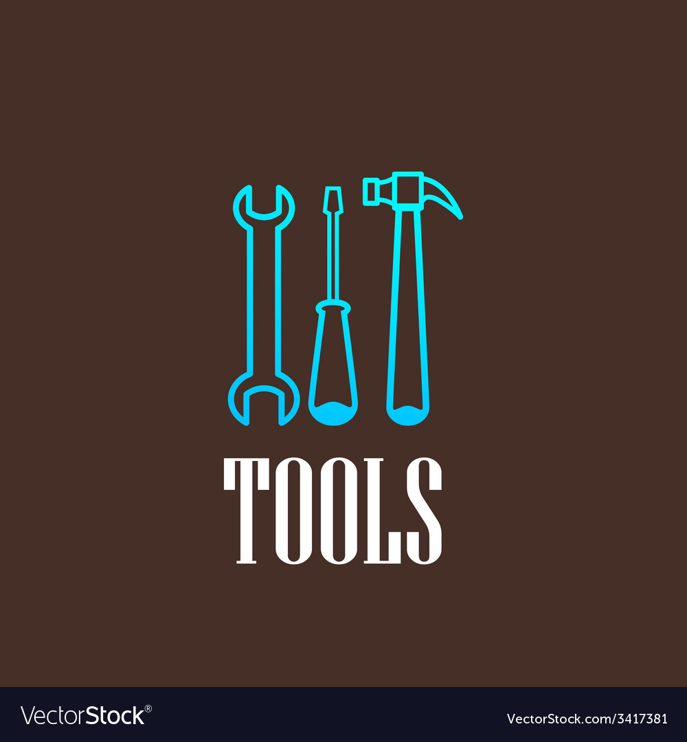 With a tool set vector | Price: 1 Credit (USD $1)