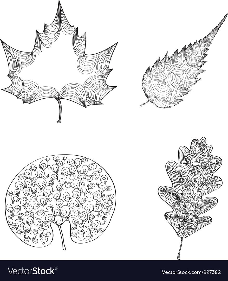 Decorative leafs vector   Price: 1 Credit (USD $1)
