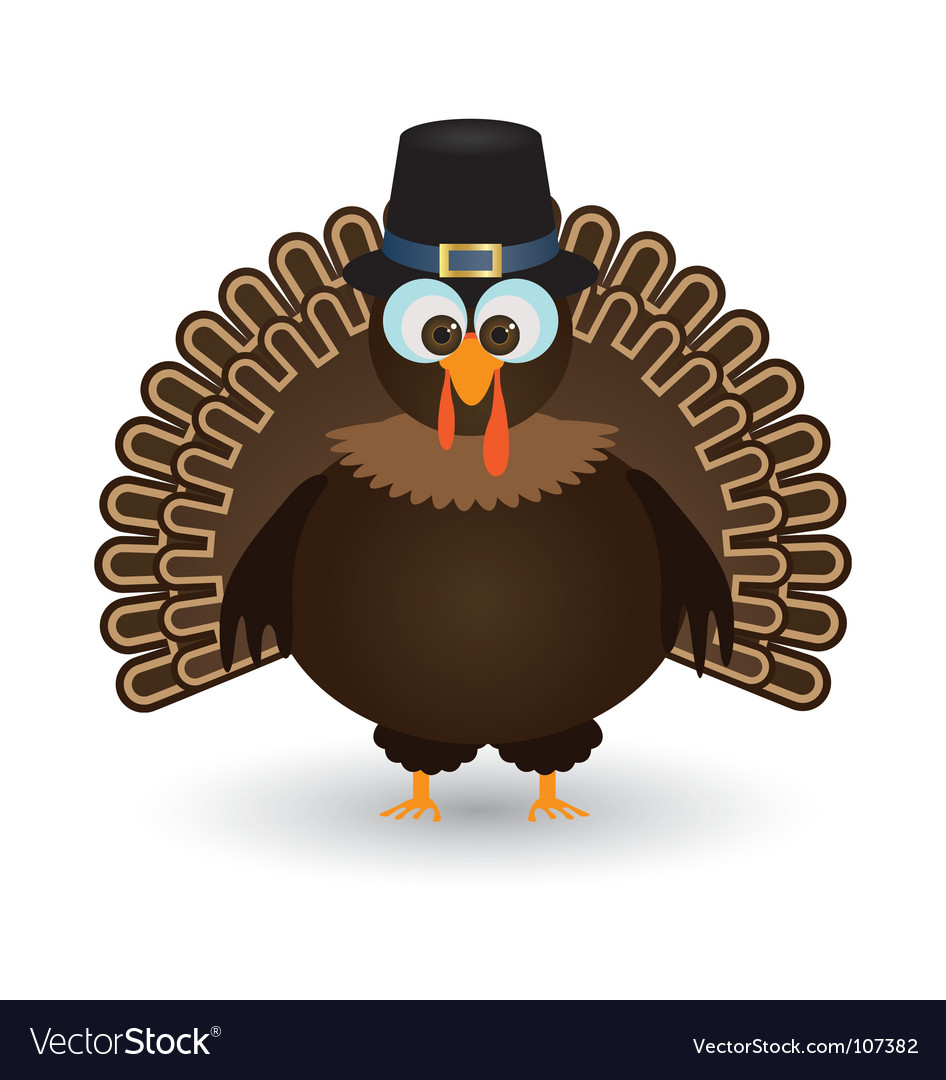 Thanksgiving turkey vector | Price: 1 Credit (USD $1)