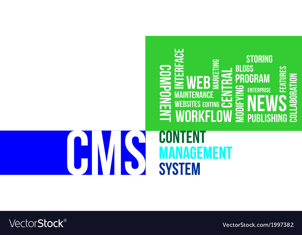 Word cloud cms vector | Price: 1 Credit (USD $1)