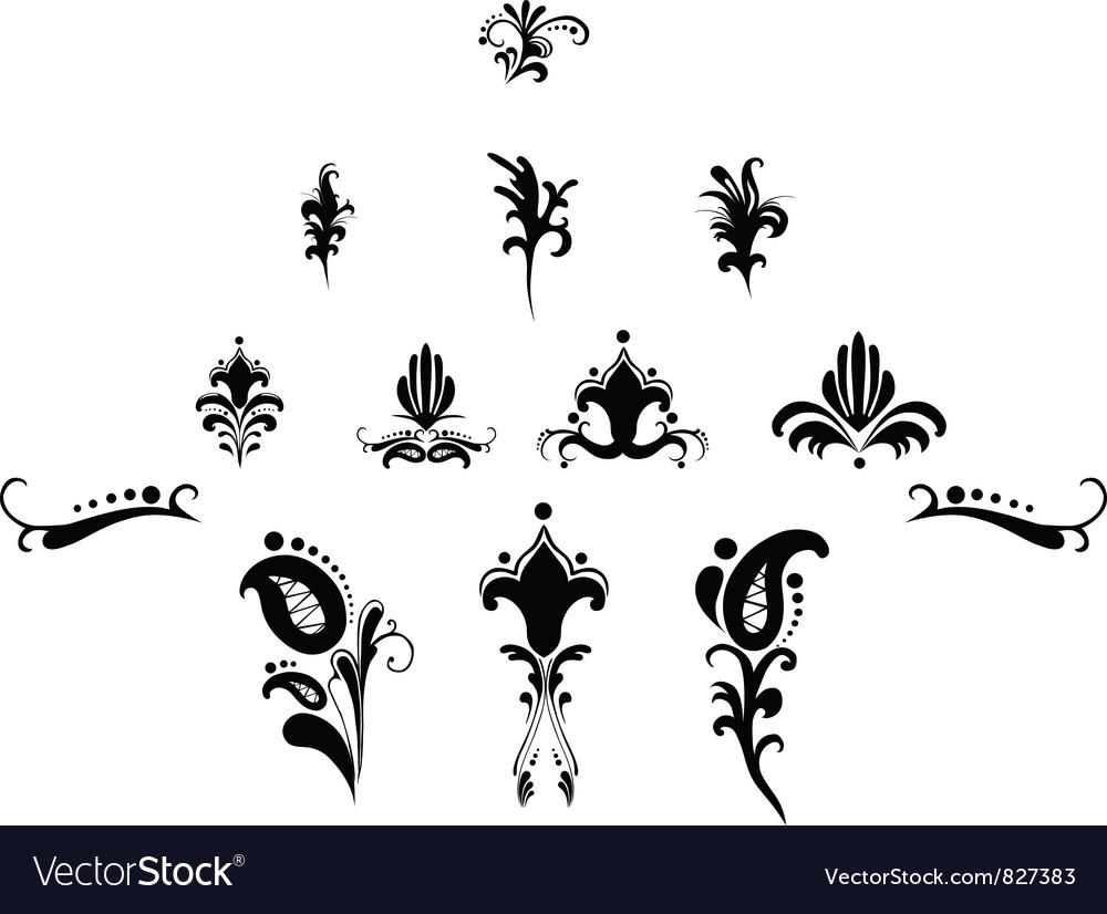 Decoration elements vector   Price: 1 Credit (USD $1)