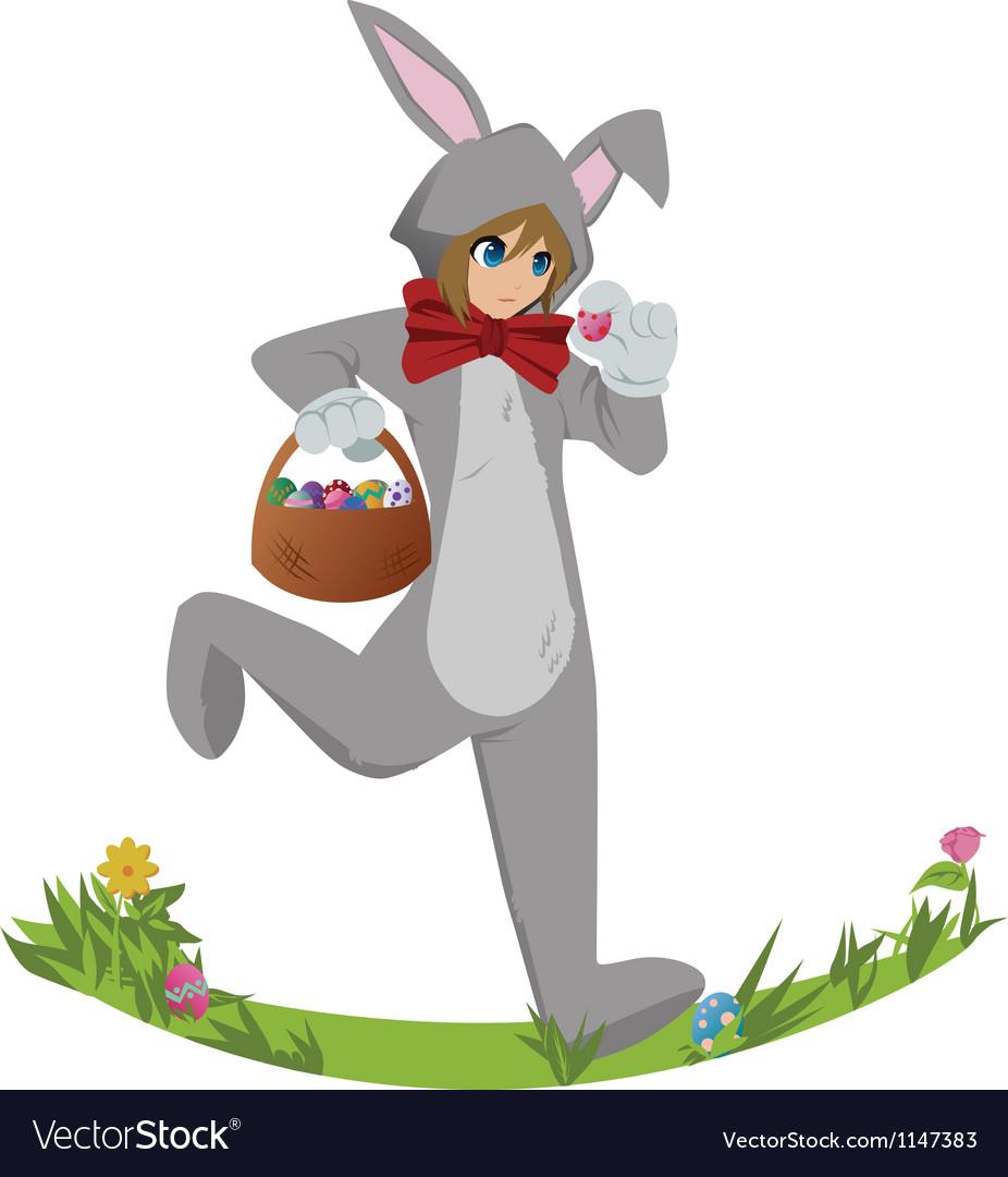 Easterbunny vector | Price: 1 Credit (USD $1)