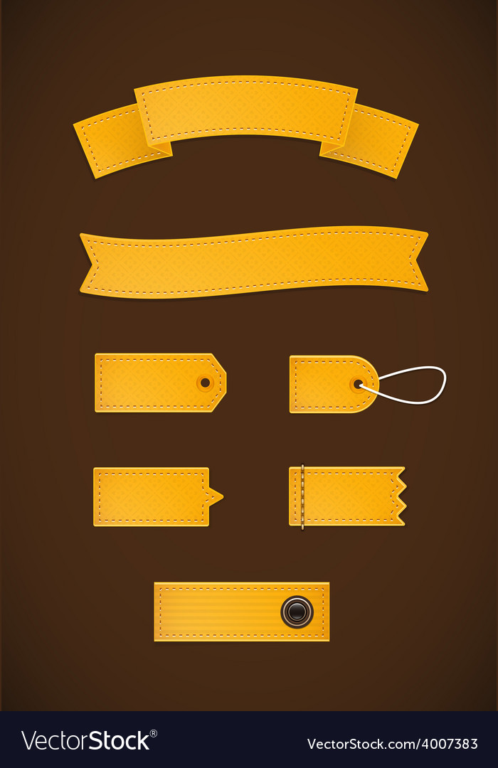 Golden ribbons v1 vector | Price: 1 Credit (USD $1)