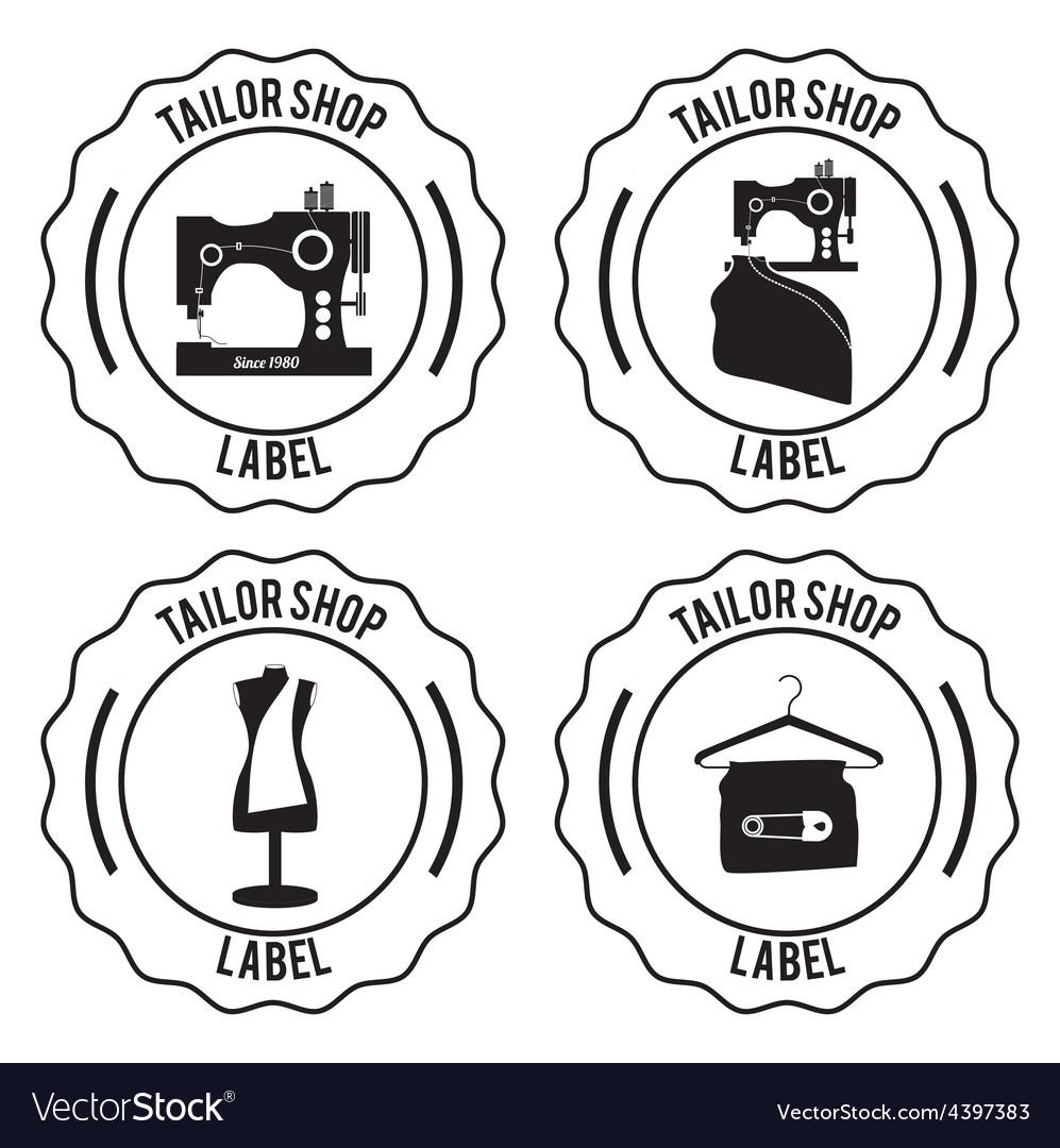 Tailor shop design vector | Price: 1 Credit (USD $1)