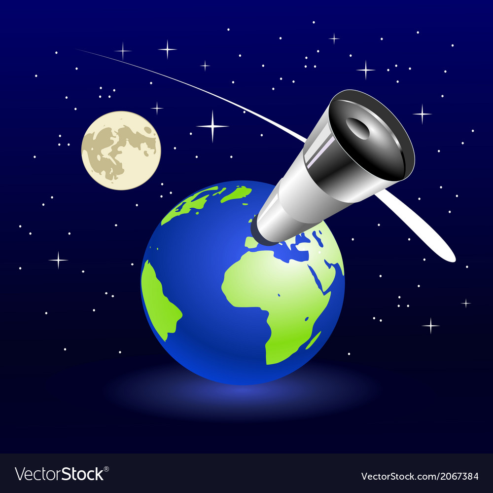 Earth blue planet vector | Price: 1 Credit (USD $1)